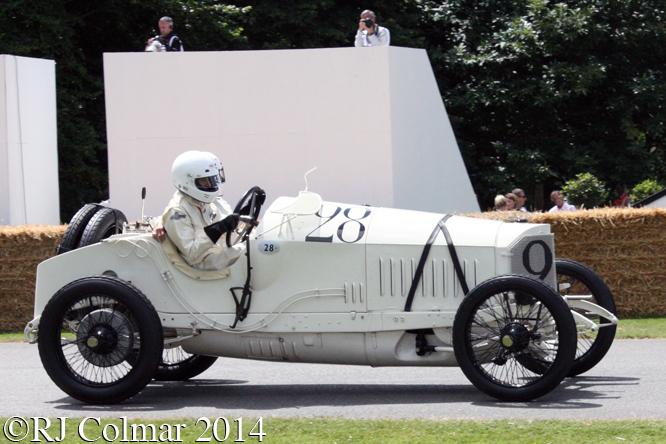 Mercedes 18/100, Martin Viessmann, Goodwood Festival of Speed,