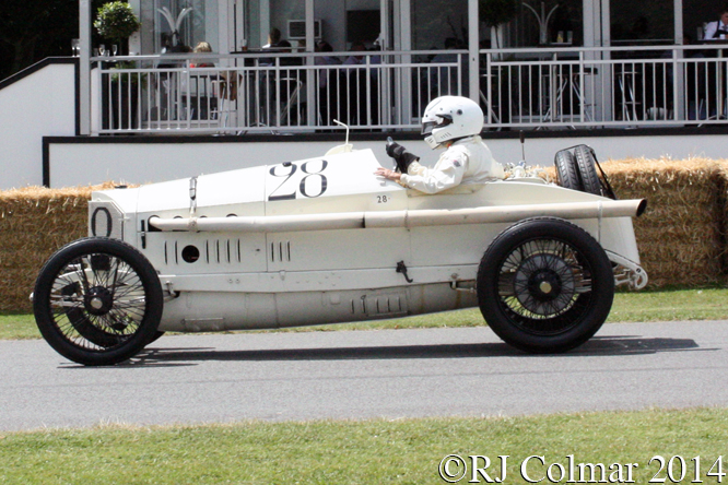 Mercedes 18/100, Martin Viessmann, Goodwood Festival of Speed,