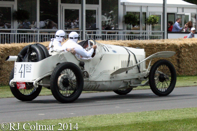 Mercedes 18/100, Eddie Berrisford, Goodwood Festival of Speed
