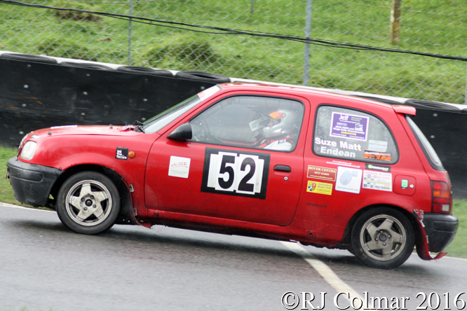 Nissan Micra, Matt / Suze Endean, MGJ Engineering Winter Stages Rally, Brands Hatch