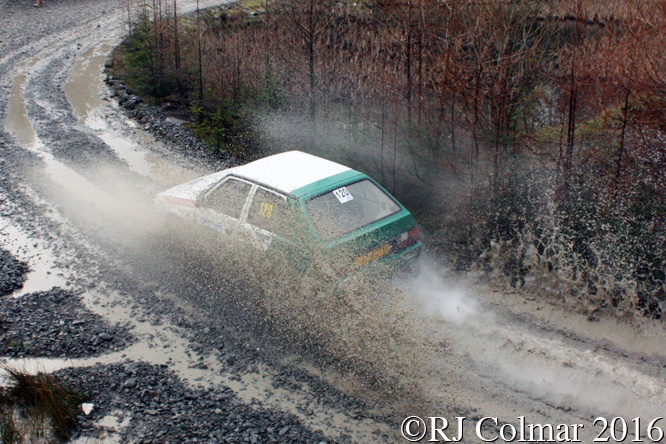 Skoda Favorit, Paul Ellis, Simon Jones, Penmachno, Cambrian Rally,