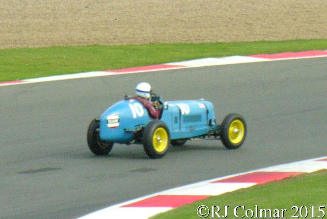 ERA R5B, Charles McCabe, Silverstone Classic,