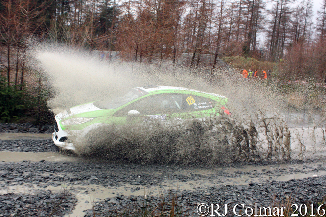 Ford Fiesta R200, Glynne Jones, Glenn Mercer, Penmachno, Cambrian Rally,