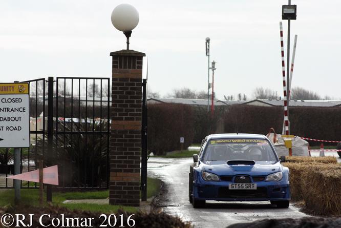 Subaru Impreza S12 WRC, Steve / Yvonne Furzeland, Brean Stages Rally, Brean Leisure Park,