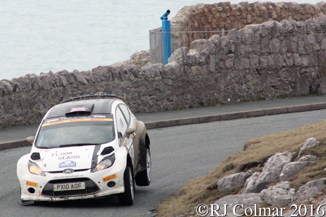 Ford Fiesta 2000, Stephen Simpson, Andrew Roughead, Great Orme, Cambrian Rally,