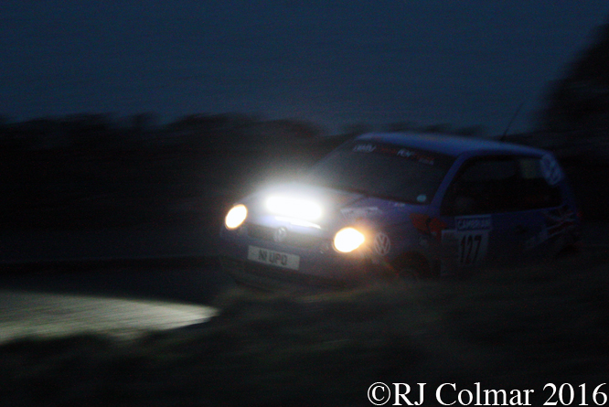 Volkswagen Lupo E, Paul Barbet, Chris Sheriden, Great Orme, Cambrian Rally,