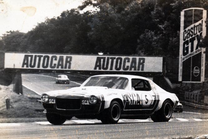Chevrolet Camaro Z/28, Frank Gardner, Brands Hatch
