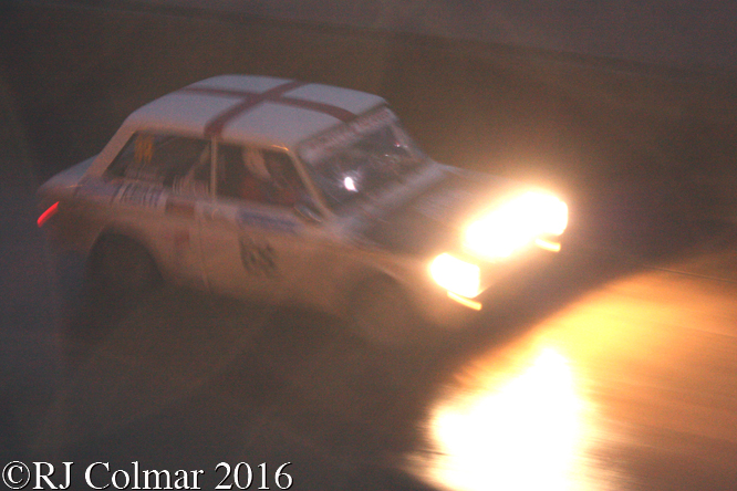 Sunbeam Imp Sport, Alan Kitson, Ronald Aspinwall, Legend Fires North West Stages, Blackpool Promenade,