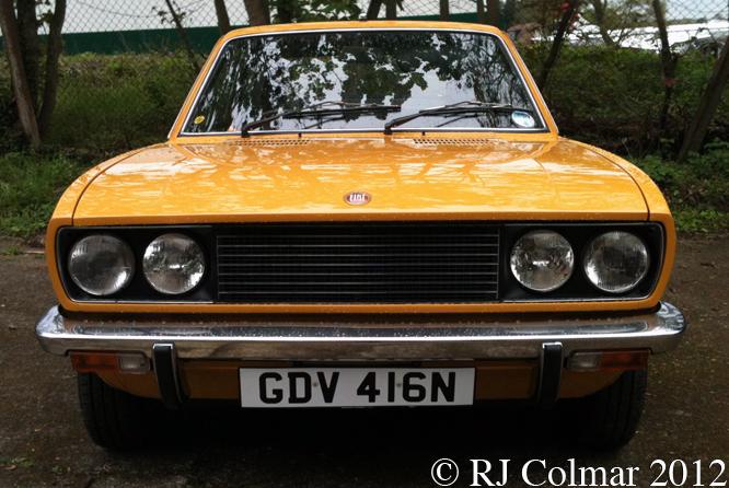 Fiat 128 Sport Coupé SL, Auto Italia, Brooklands