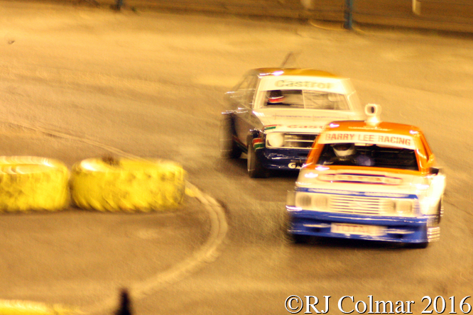 Ford Escort RS2000 Mk2, Lee Wood, Wimbledon Stadium,