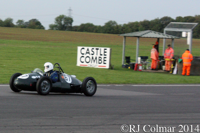 Mackson 500 F3, Gordon Russell, Castle Combe,