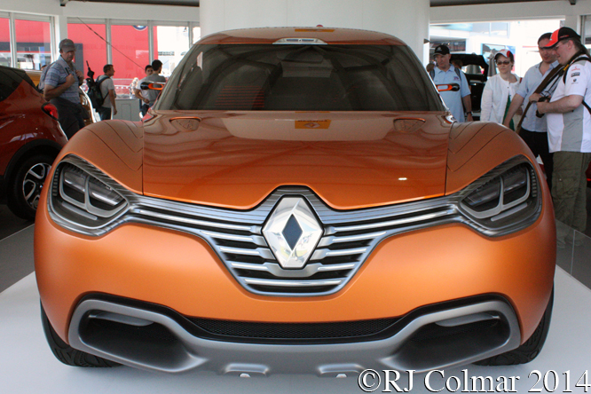 Renault Captur, Goodwood Festival of Speed,