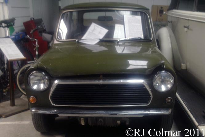 BLMC Mini 9X ADO20, Atwell Wilson Motor Museum