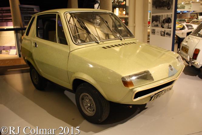 Leyland Crompton Electricar, British Motor Museum, Gaydon