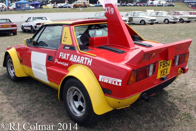 Bertone X1/9, Silverstone, Classic,