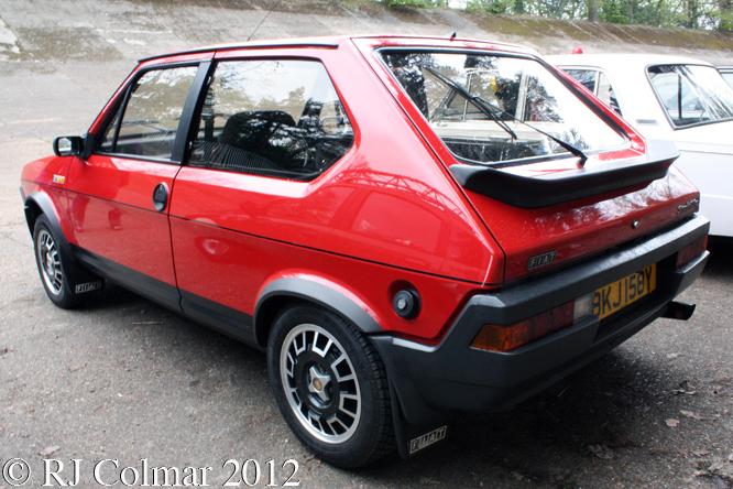 FIAT Strada 105TC, Auto Italia, Brooklands,