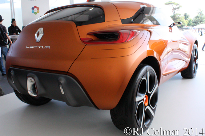 Renault Captur, Goodwood Festival of Speed,