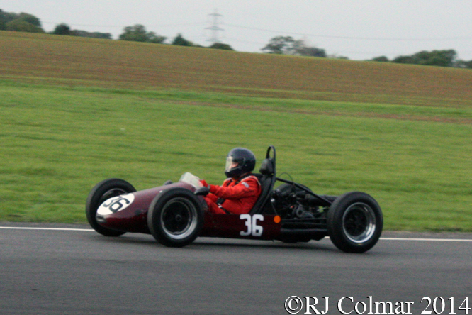 Trenberth Vincent, Kerry Horan, Autumn Classic, Castle Combe,