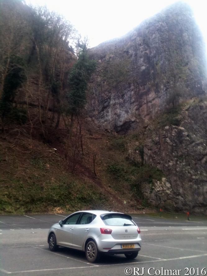 SEAT Ibiza SE Ecomotive TSI, Burrington Combe, Somerset,