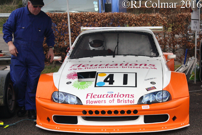 Vauxhall Tigra, Oliver Bull, Castle Combe,