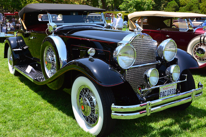 Packard 840 DeLuxe Rumble Seat Roadster, San Marino Motor Classic,