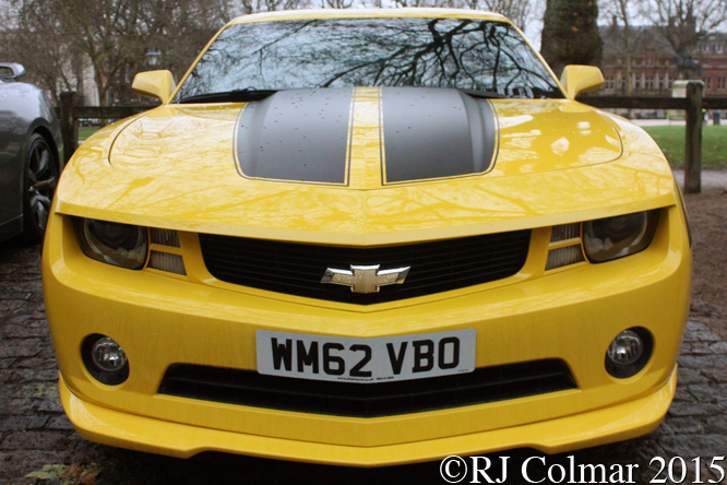 Chevrolet Camaro RS, Avenue Drivers Club, Queen Square, Bristol,