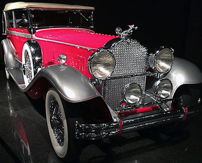 Packard Model 745 Deluxe Eight Club Sedan, Blackhawk Museum, Danville, California,