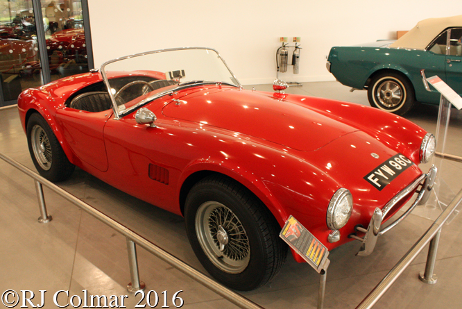 AC Cobra, Haynes International Motor Museum, Sparkford, Somerset,