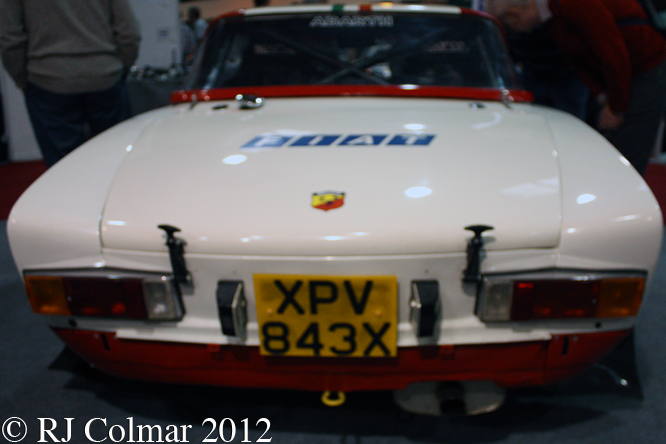 FIAT 124 Abarth Rallye, Race Retro, Stoneleigh Park