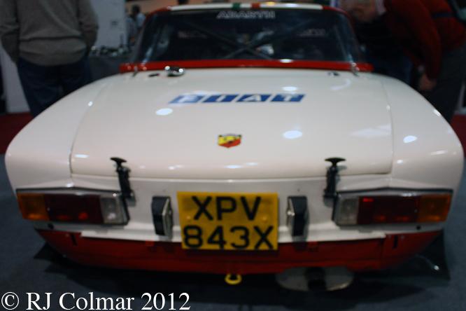 FIAT 124 Abarth Rallye, Race Retro, Stoneleigh Park