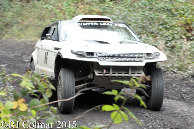 Land Rover Milner Evoque, Wyn Williams, Walters Arena, Neath