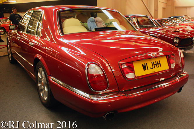 Bentley Arnage Red Label, Haynes International Motor Museum, Sparkford, Somerset,