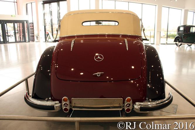 Mercedes Benz W24 540K Cabriolet A, Haynes International Motor Museum, Sparkford, Somerset