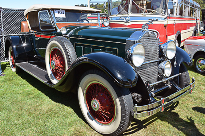 Packard 640 Custom Eight Roadster, Bonhams, Quail Lodge, California