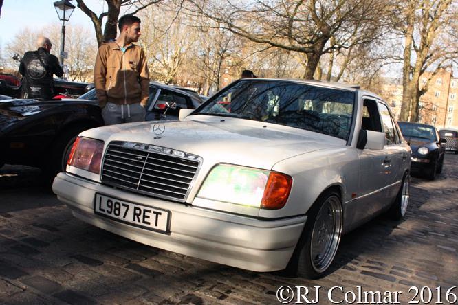 Mercedes Benz E280 Auto, Avenue Drivers Club, Queen Square, Bristol