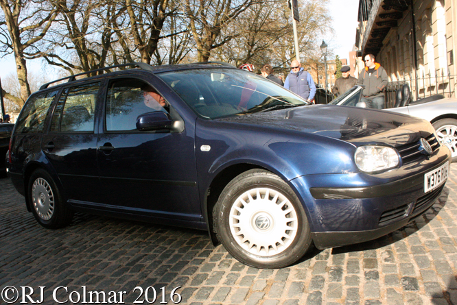 Volkswagen Golf E, Avenue Drivers Club, Queen Square, Bristol