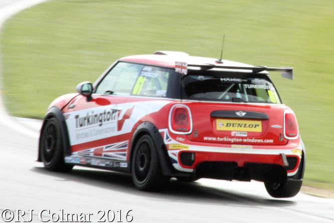 Mini Gen3 F56, James Turkington, Donington Park