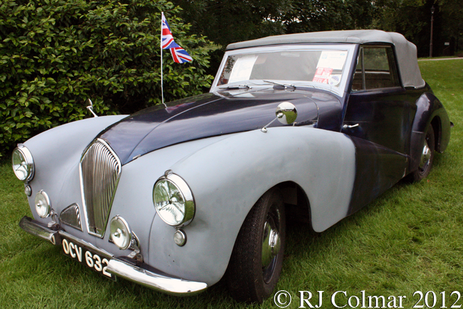 Healey Abbot, Classics At The Castle, Sherborne Castle, Dorset,
