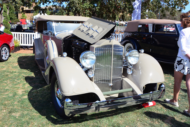 Packard 1104 Super Eight Phaeton, Niello Concours at Serrano
