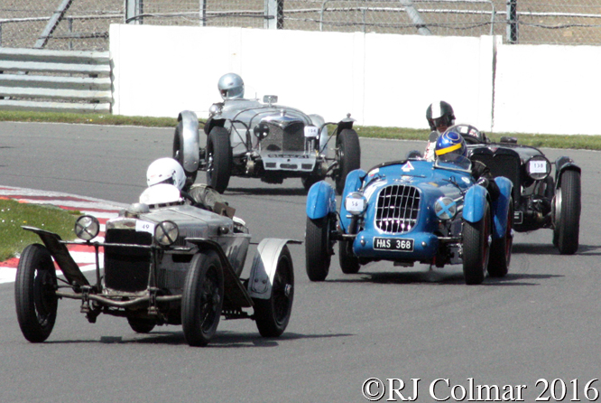 GN Ford Piglet, Doug Cawley, VSCC Spring Start, Silverstone