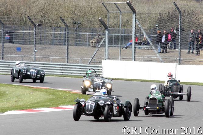 Frazer Nash Targa Florio, Ian Dalglish, VSCC Spring Start, Silverstone