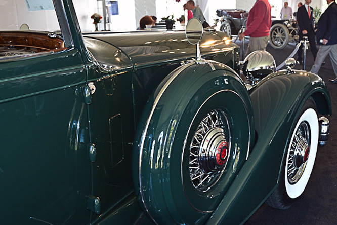Packard 1107 Coupe Roadster, Bonhams, Quail Lodge