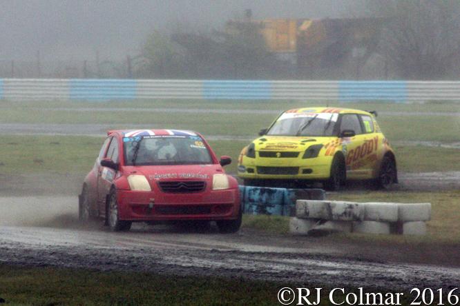 Citroën C2, Phil Chicken, Odyssey Battery, MSA Rally Cross Championship, Pembrey
