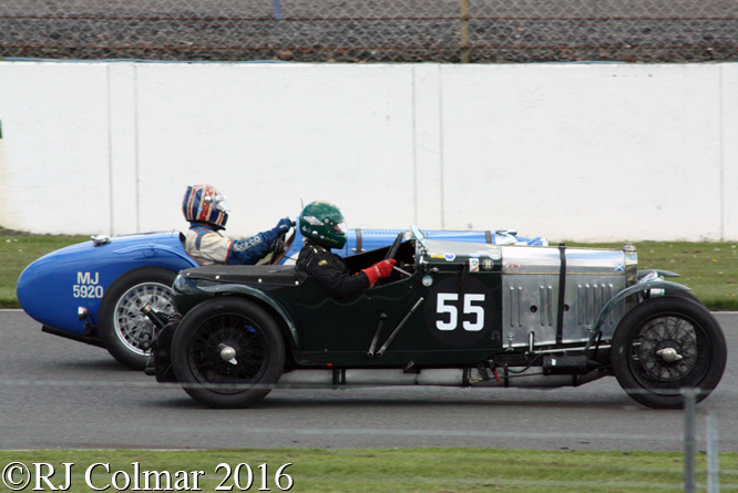 Frazer Nash Fast Tourer, Chris Chilcott, VSCC Spring Start, Silverstone