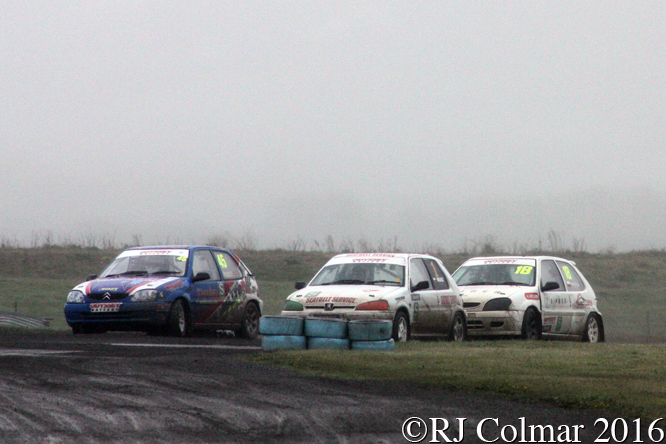 Citroën Saxo, Graham Rumsey, Odyssey Battery, MSA Rally Cross Championship, Pembrey