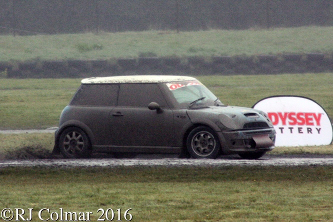 BMW Mini Cooper S, Keifer Hudson, Odyssey Battery, MSA Rally Cross Championship, Pembrey