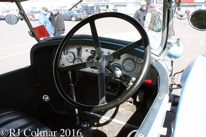 Delage DIS Colonial Tourer, VSCC Spring Start, Silverstone,