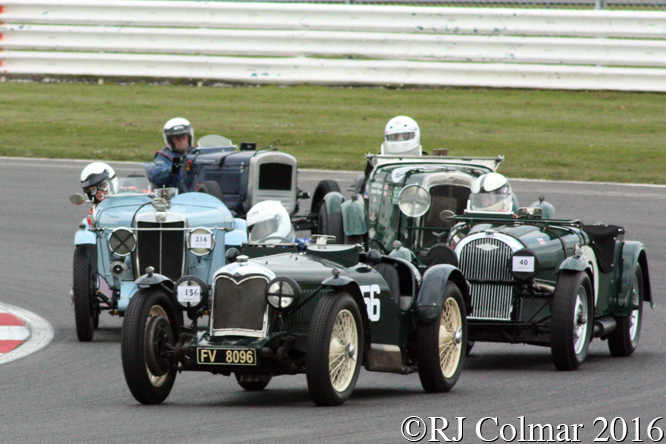 Riley 12/4 Special, James Whitmore, VSCC Spring Start, Silverstone