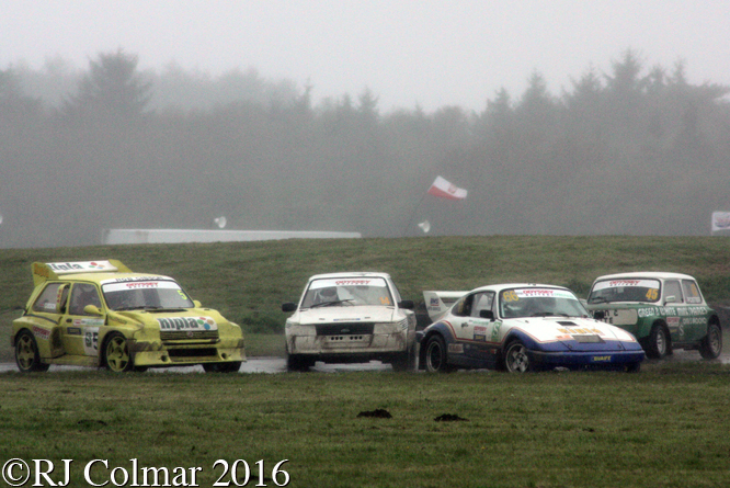 Porsche 911, Barry Stewart, Odyssey Battery, MSA Rally Cross Championship, Pembrey