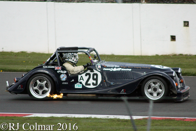 Morgan Plus 8, Keith Ahlers, VSCC Spring Start, Silverstone